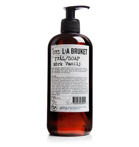 Jabón Líquido Vainilla Negra · 450 ml