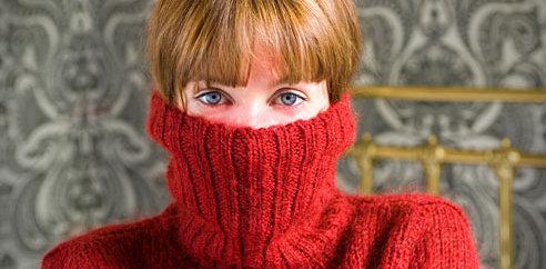 red cheeks woman crop