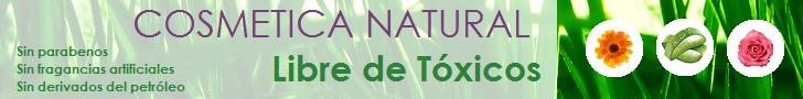 cosmetica natural libre de toxicos