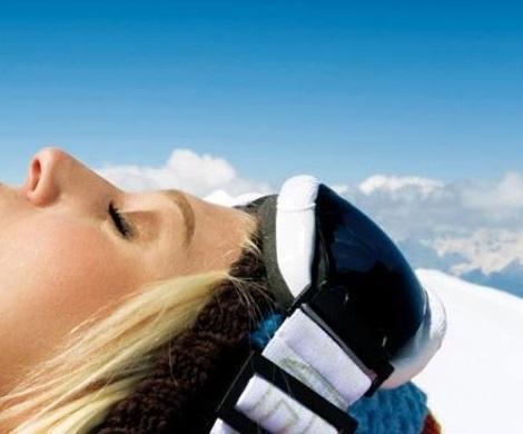 Proteccion solar en la montaña