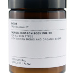 Tropical Blossom Body Polish de Evolve, exfoliante corporal