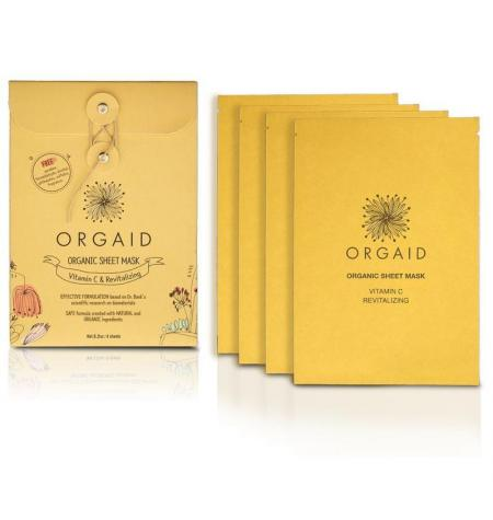 Vitamin C & Revitalizing Organic Sheet Mask · 1 unidad