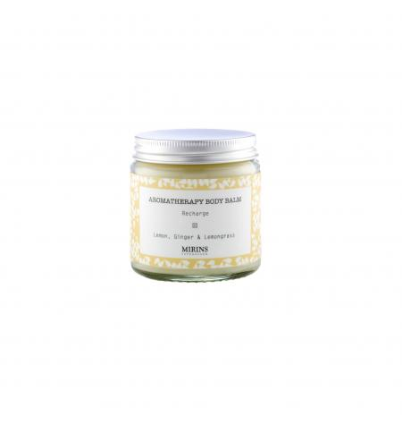 Bálsamo Corporal Recharge: Limón/ Jengibre/ Lemongrass· 120 ml