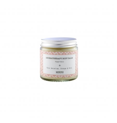 Body Balm Happiness Rose Geranium/Orange/Mint · 120 ml