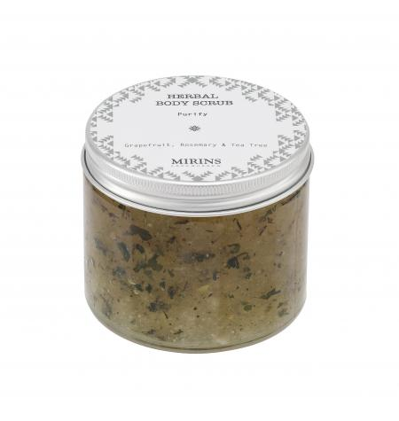 Body Scrub Purify: Grapefruit/Rosemary/Tea Tree · 250 ml