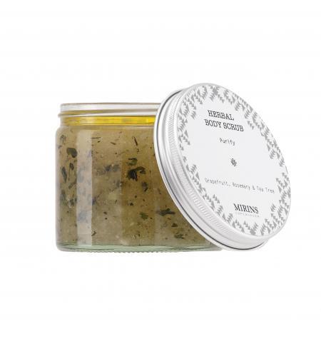 Body Scrub Purify: Grapefruit/Rosemary/Tea Tree · 250 ml