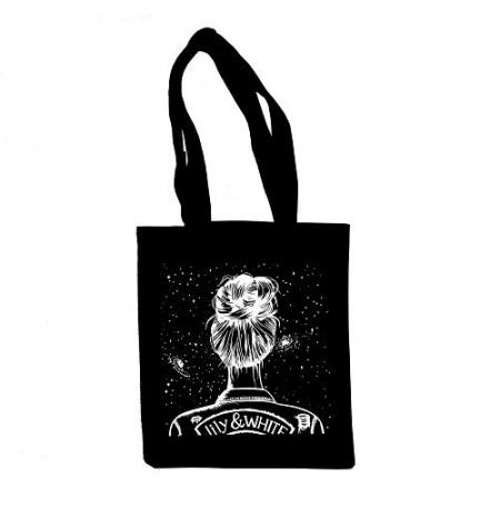 Cotton tote bag Universe
