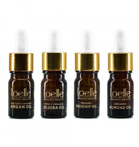 Aceites Orgánicos Loelle set viaje · 4x 5ml