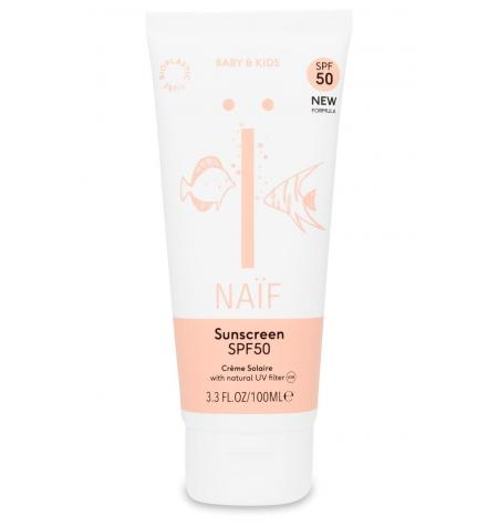 Natural Sunscreen for Baby & Kids SPF50 · 100 ml