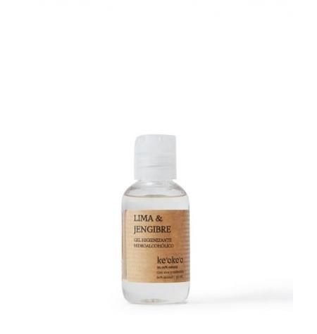 Gel Hidroalcohólico Natural Lima & Jengibre · 50 ml