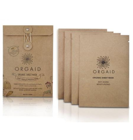 Anti-Ageing & Moisturizing Organic Sheet Mask · 4 units