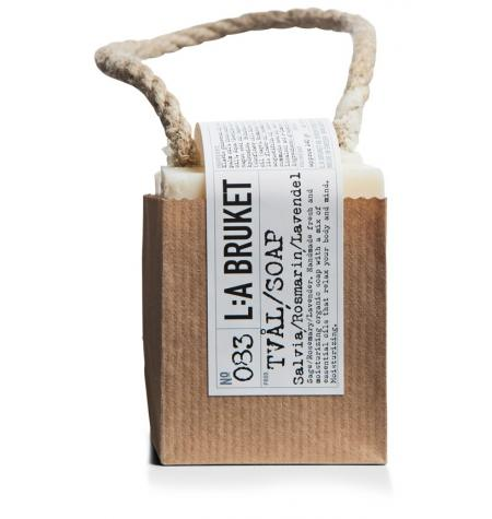 Jabón con Cuerda Salvia/Romero/Lavanda · 240 g