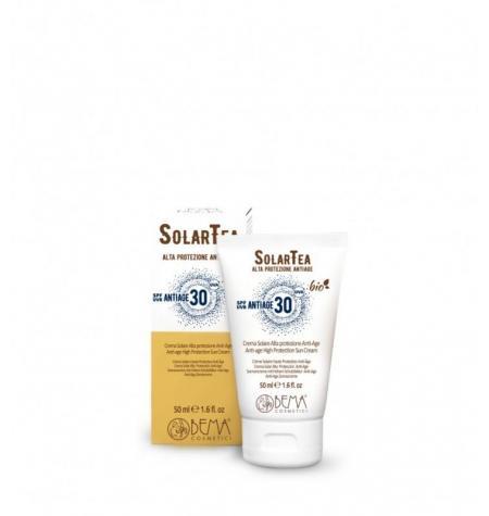 Protección Solar Facial Antiedad SPF30 · 50 ml